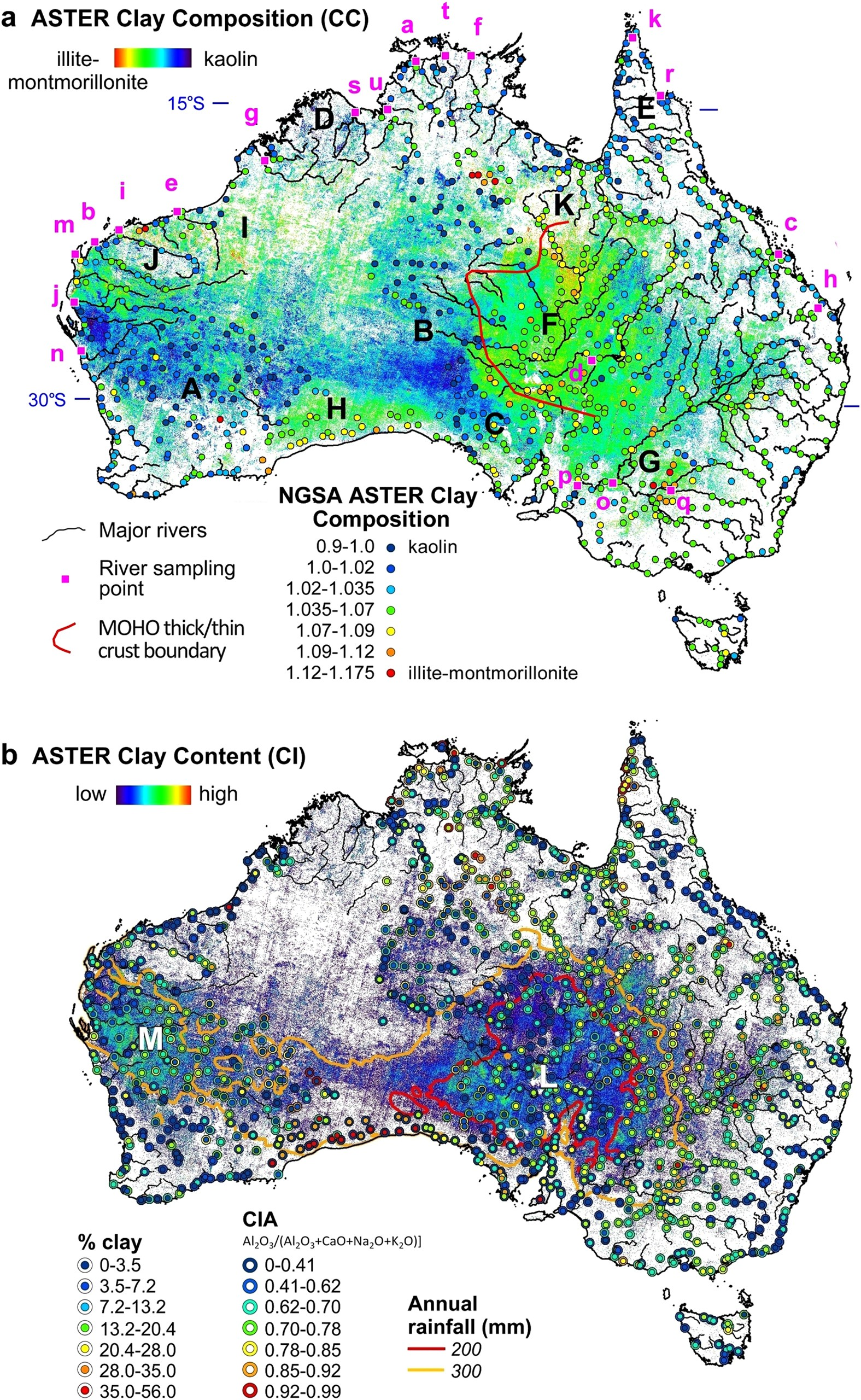 Satellite-derived mineral mapping and monitoring of ...