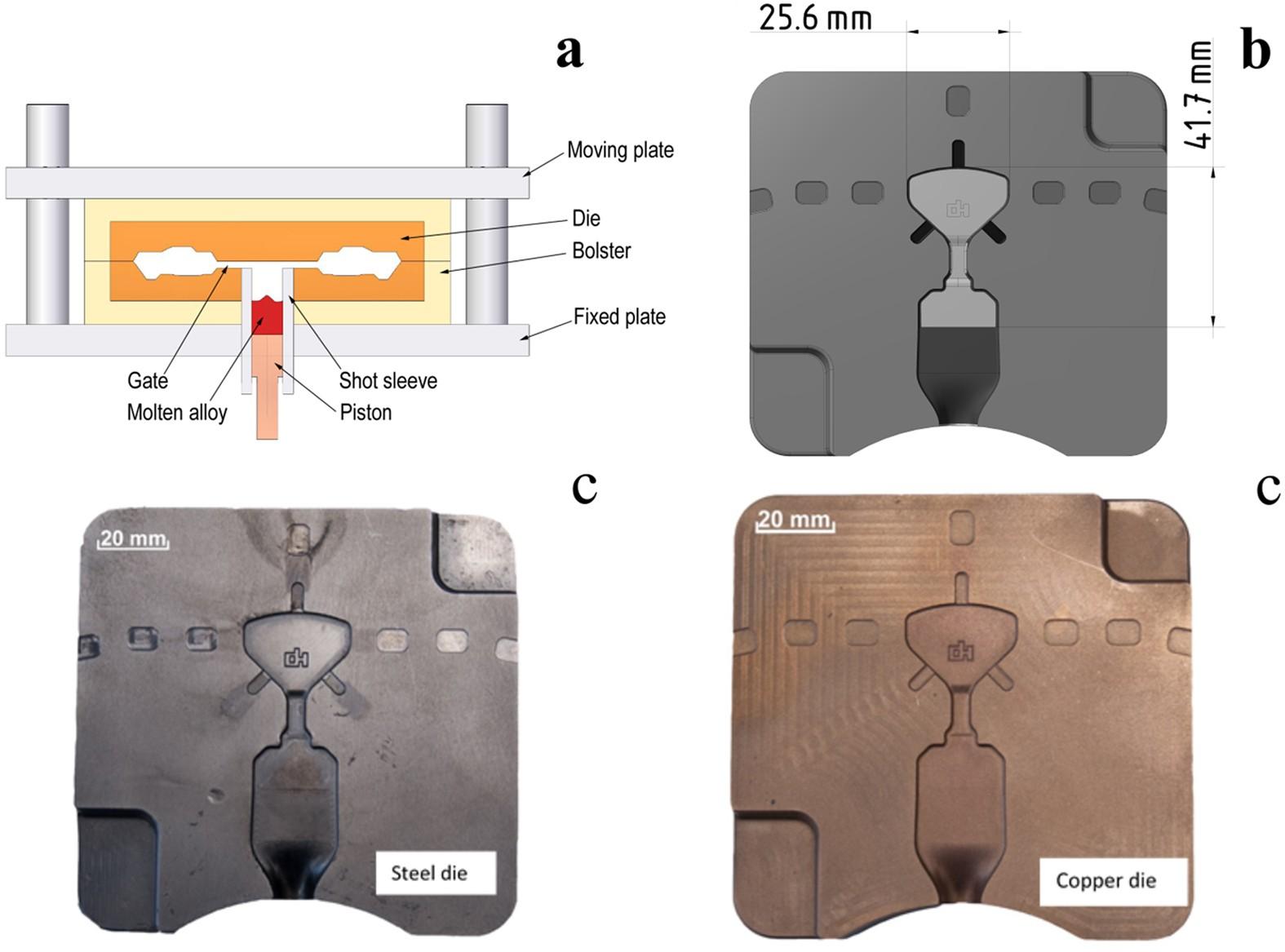 High pressure die casting of Fe-based metallic gl ... on