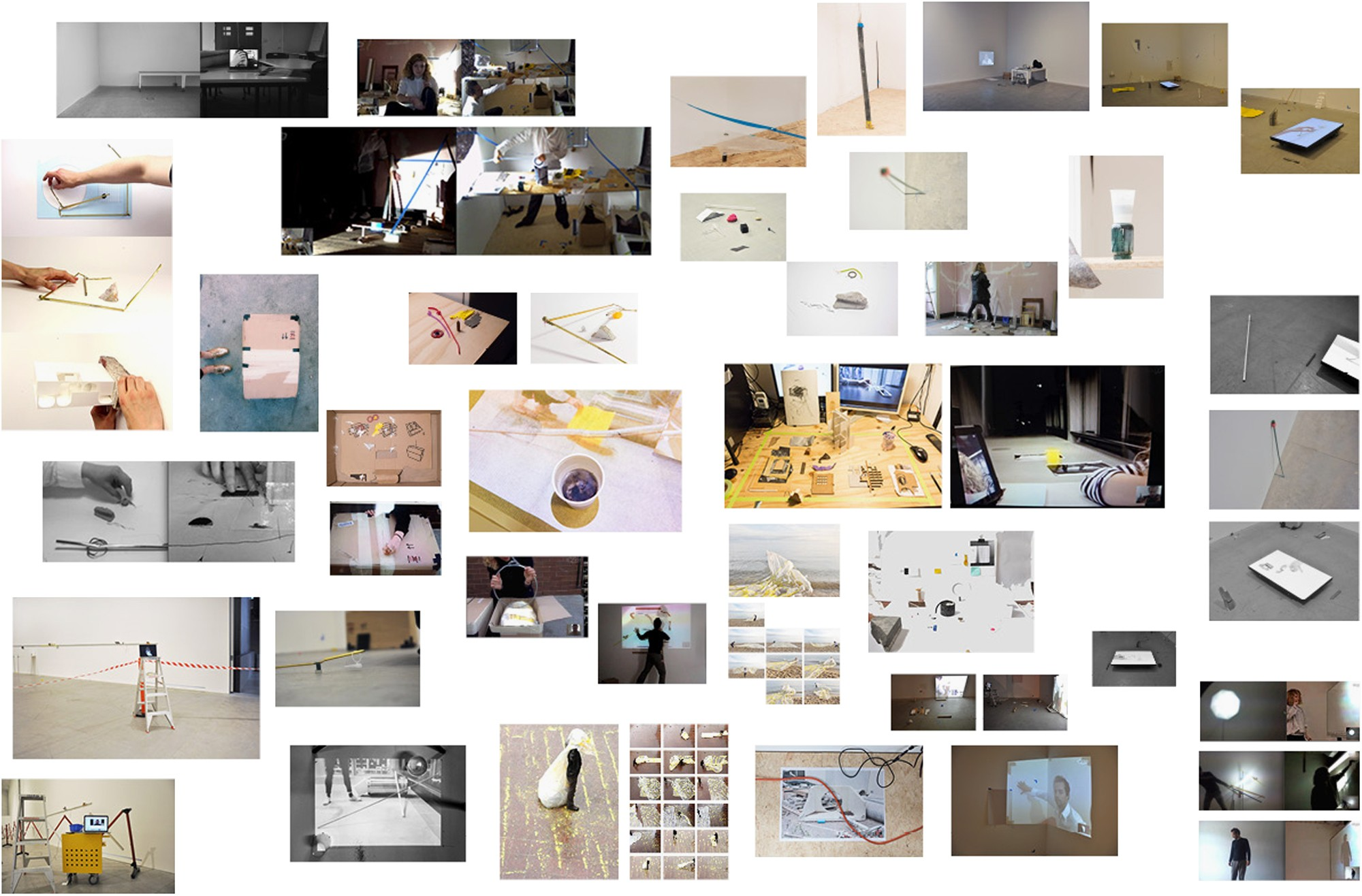 The visual essay and the place of artistic research in the