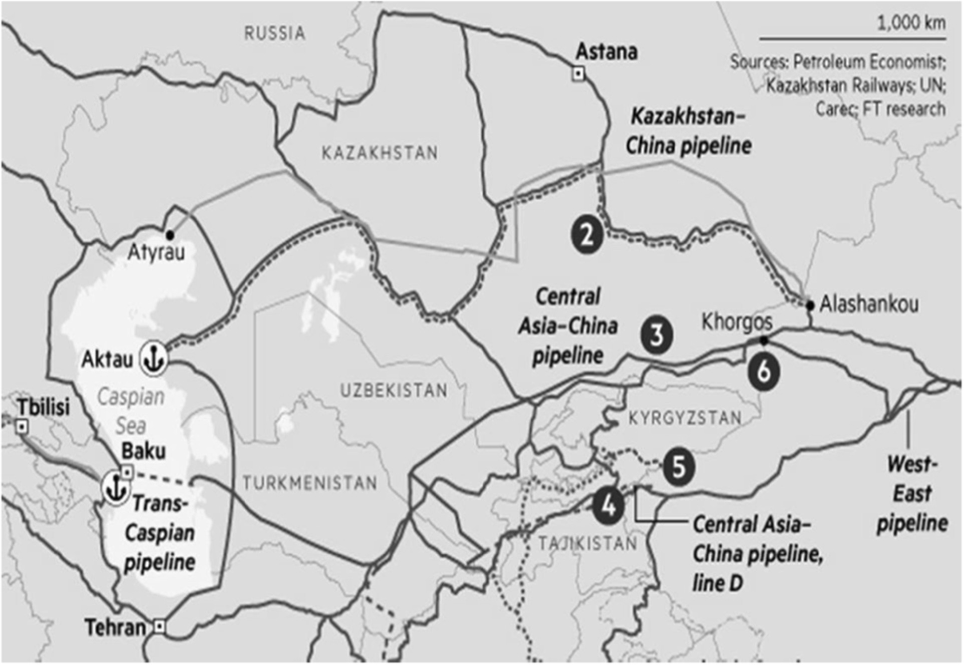 Re Centering Central Asia Chinas New Great Game In The Old Map Of 12 Regional Us Circuit Courts Appeals With Links To Eurasian Heartland Palgrave Communications