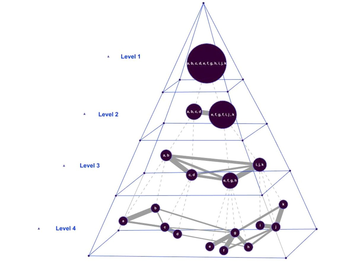 Extracting the abstraction pyramid from complex networks | BMC ...