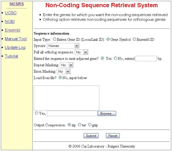 non coding sequence retrieval system for comparative genomic rh bmcbioinformatics biomedcentral com NCIC Code Manual USMC Codes Manual