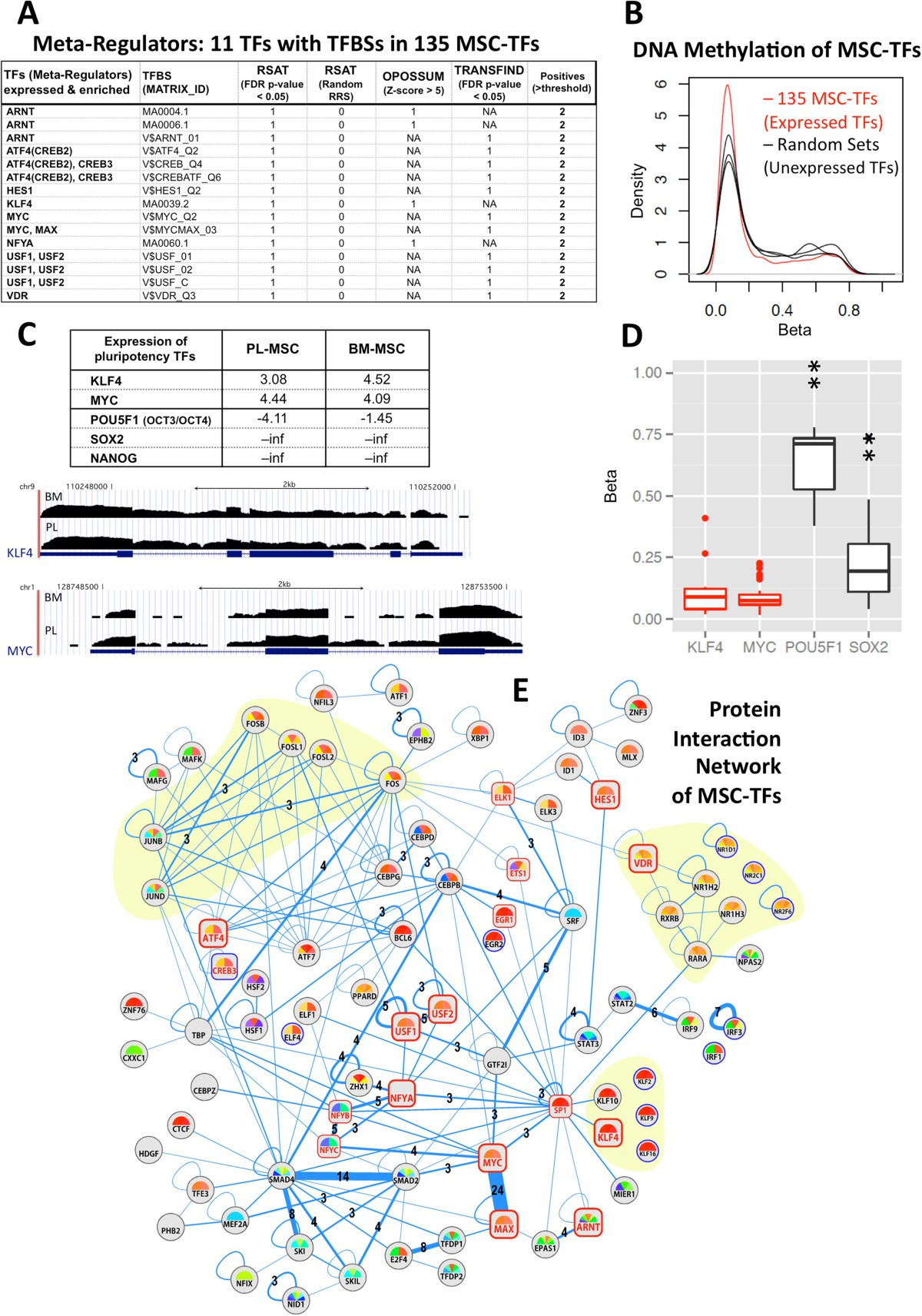 Transcriptomic Portrait Of Human Mesenchymal Stromal Stem Cells Beta Wiring Diagram Figure 5