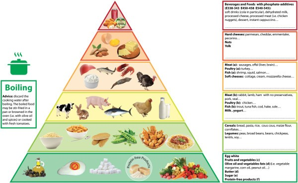 The Phosphorus Pyramid A Visual Tool For Dietary