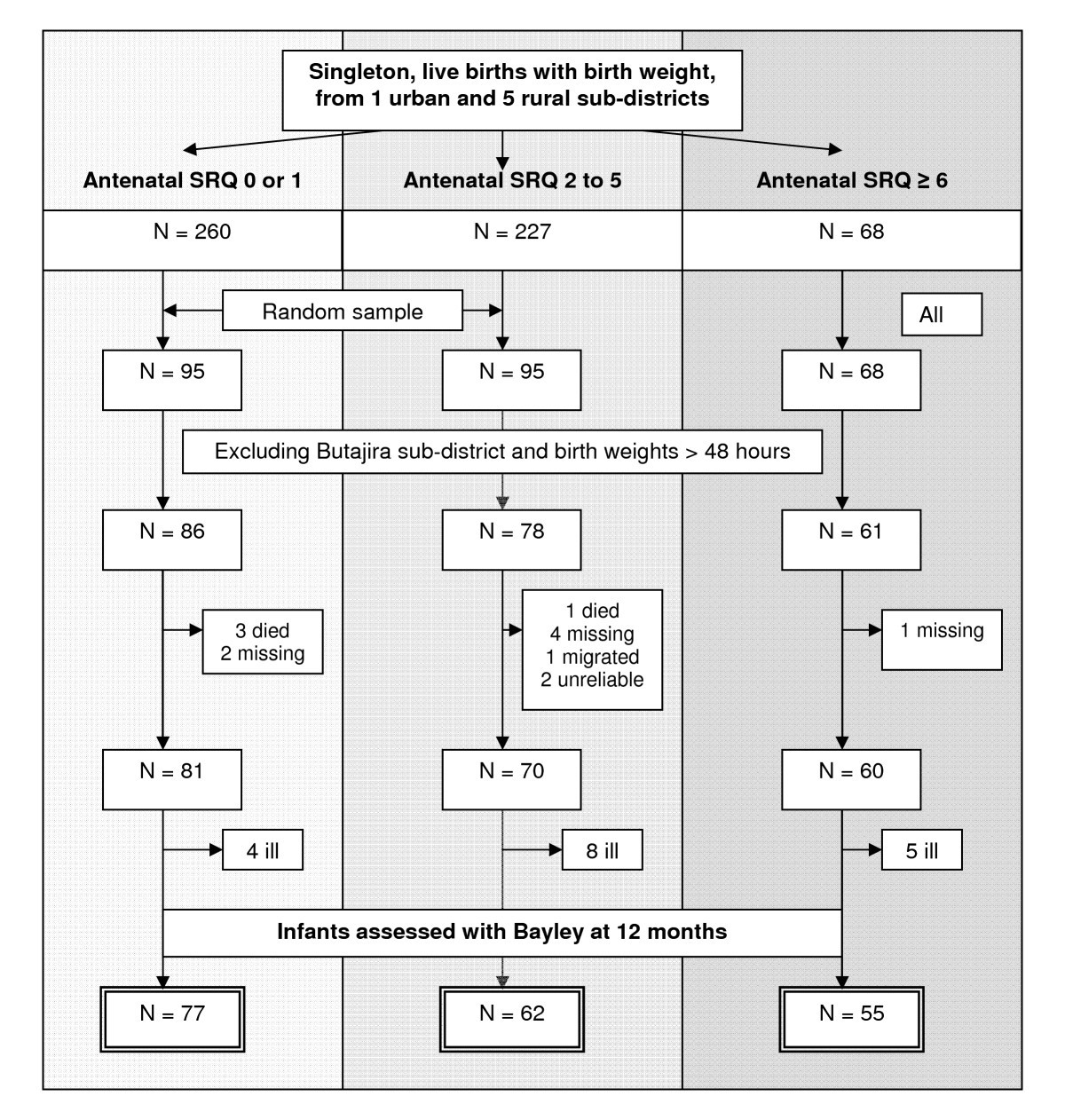 Maternal Common Mental Disorders And Infant Development In Ethiopia 2010 Town Country 3 8 Engine Diagram Figure 1