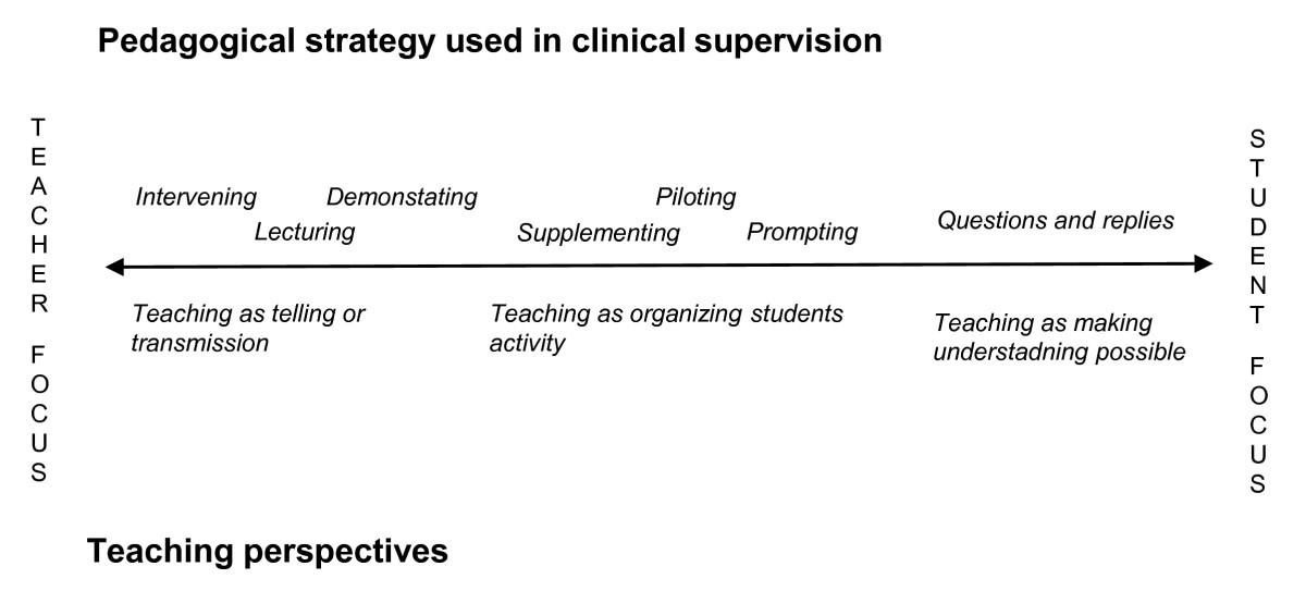 Pedagogical Strategies Used In Clinical Medical Education An