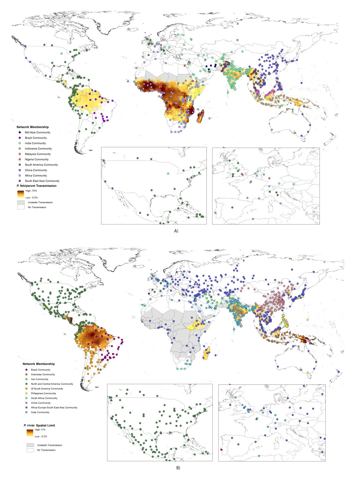 Global malaria connectivity through air travel | Malaria Journal ...