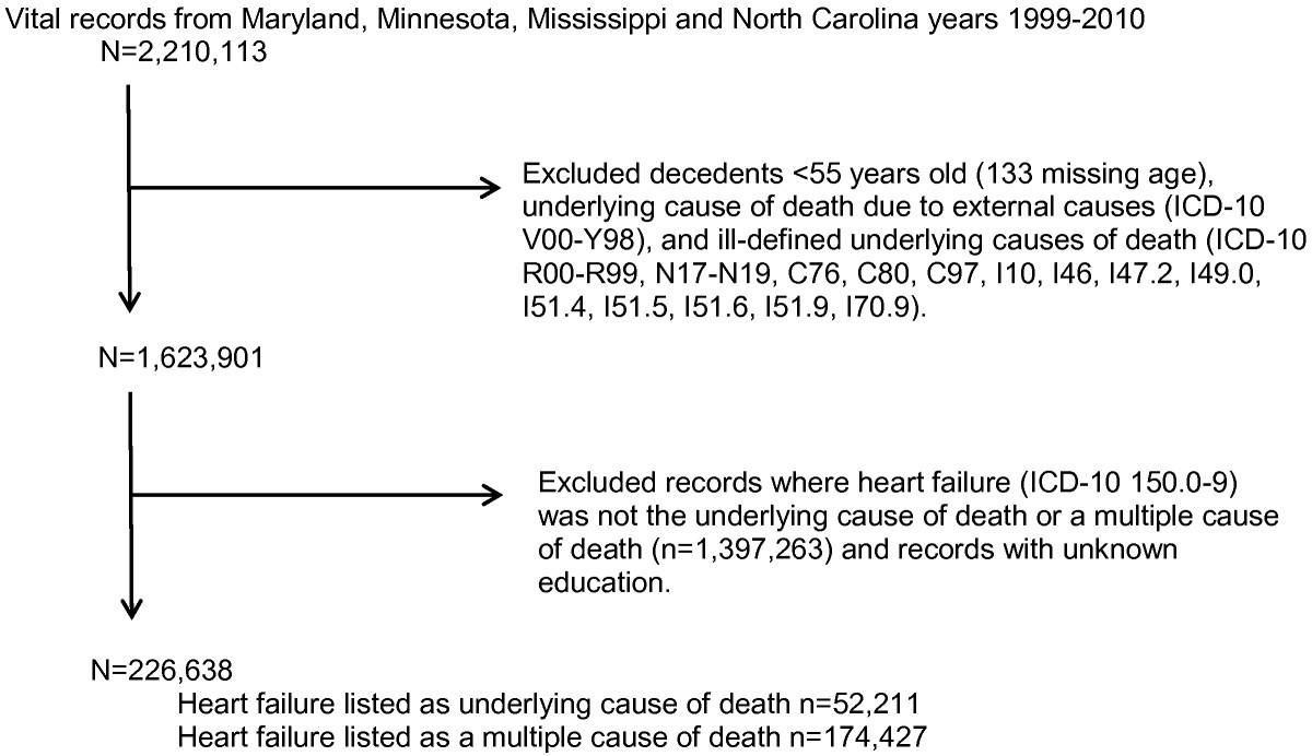 Redistribution Of Heart Failure As The Cause Of Death The