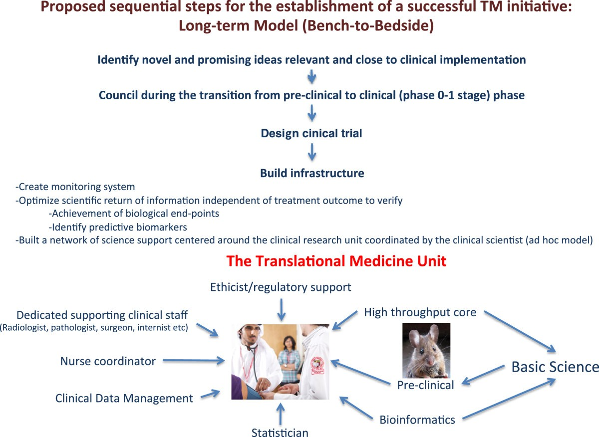 A road map to Translational Medicine in Qatar and a model for the