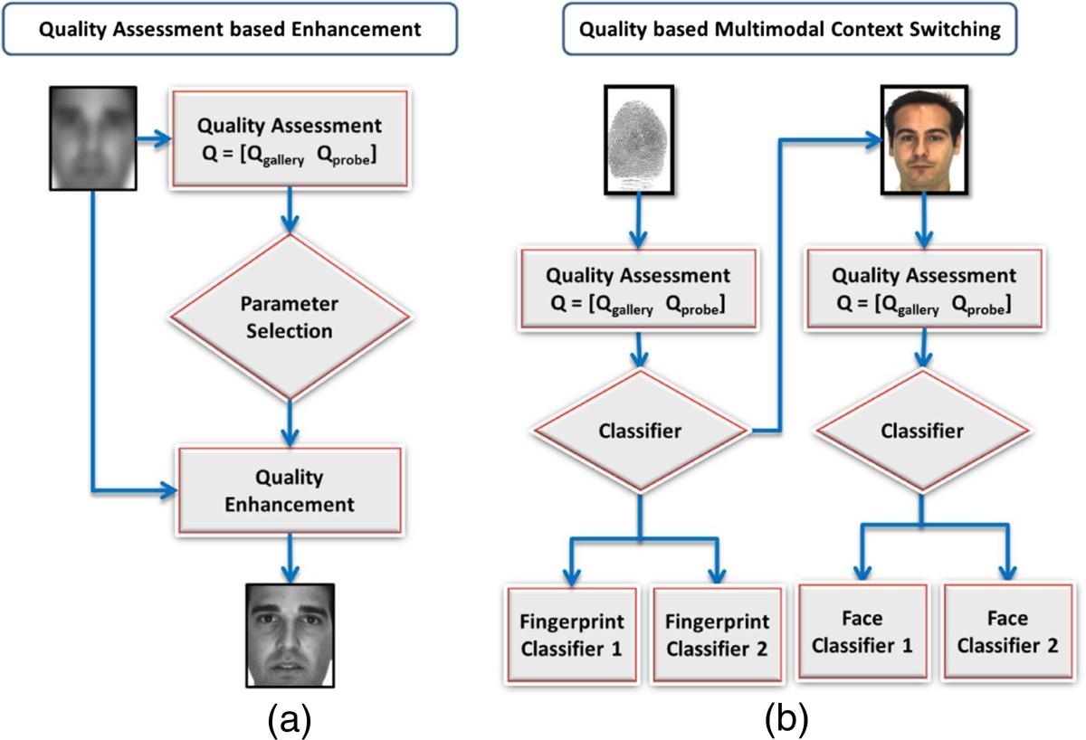 Biometric Quality A Review Of Fingerprint Iris And Face Eurasip