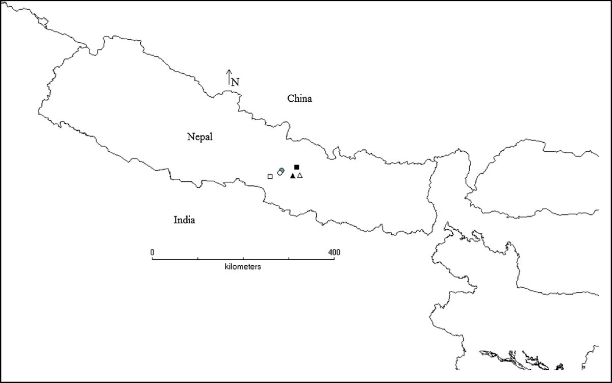 Collection And Trade Of Wild Harvested Orchids In Nepal Journal E Voucher 7 Eleven 711 Rp 10000 Materials Methods