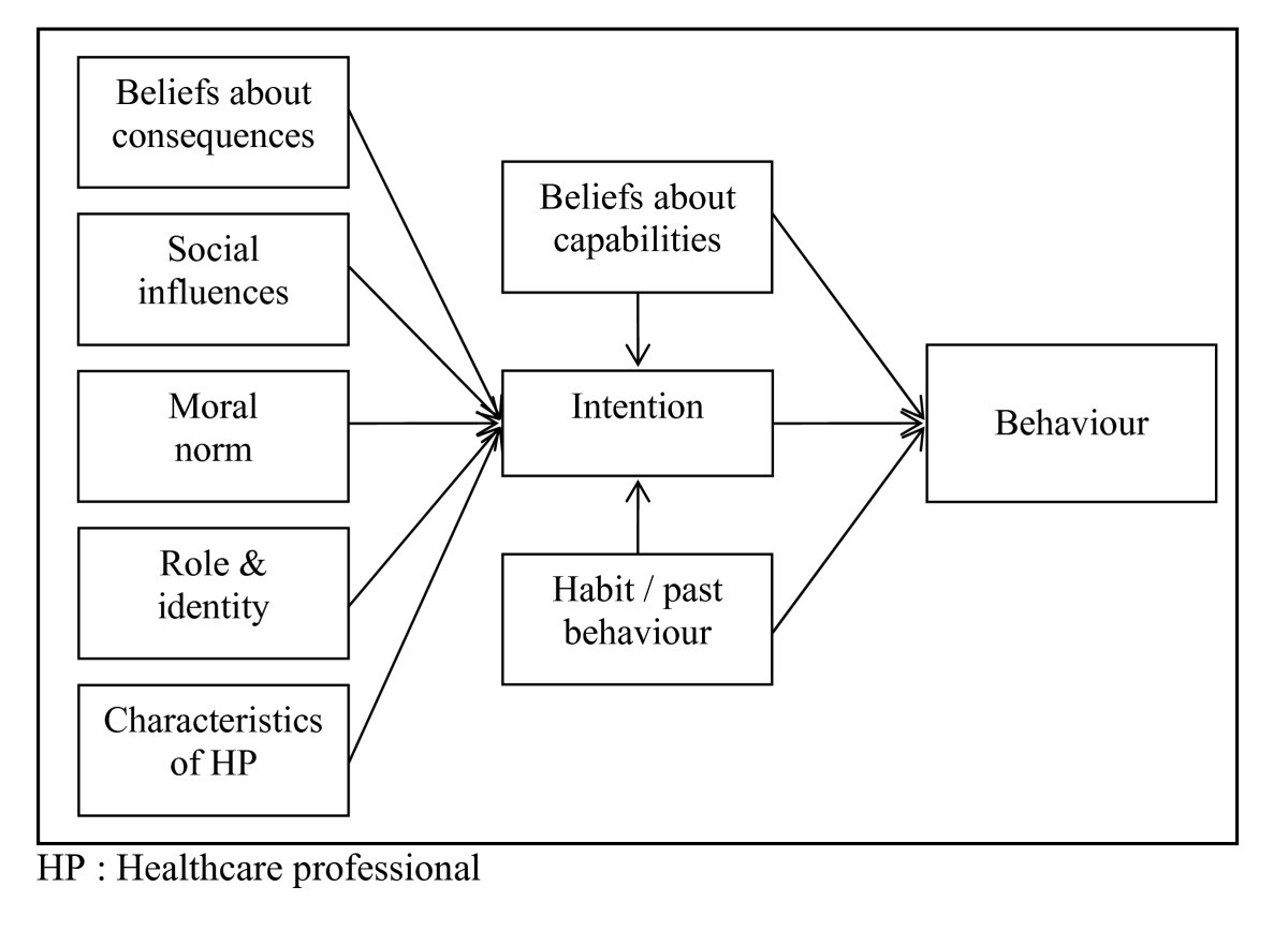 Healthcare Professionals Intentions And Behaviours A