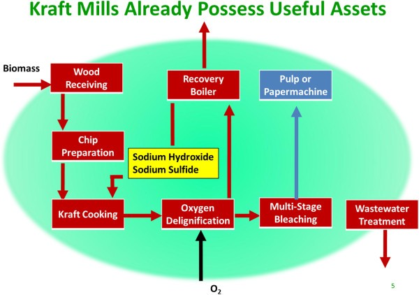 Integration Of Pulp And Paper Technology With Bioethanol