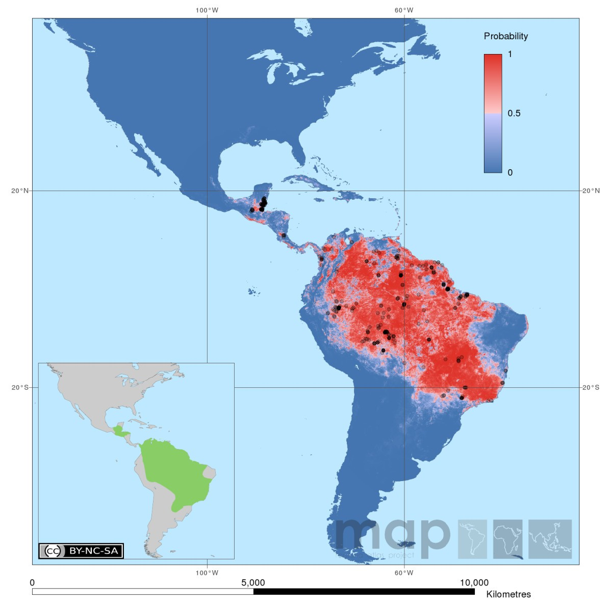 The dominant Anopheles vectors of human malaria in the Americas ...