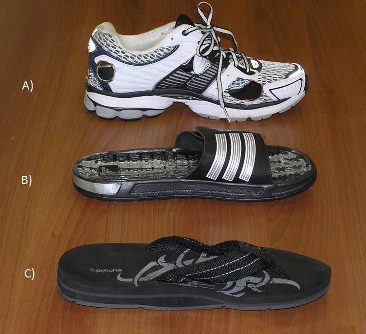 41457ccfb71 A comparison of gait biomechanics of flip-flops