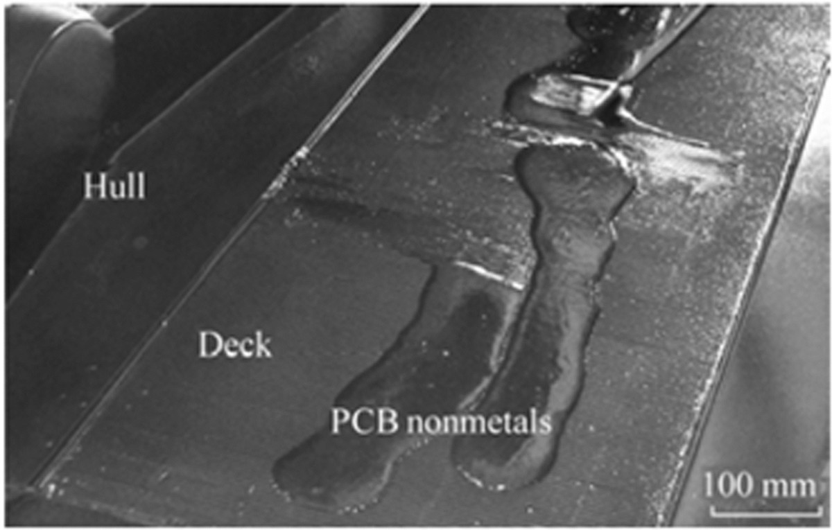 A Review Of The Recycling Non Metallic Fractions Printed Evas Are Extensive Printedcircuit Board Pcb Networks That Contain Figure 8