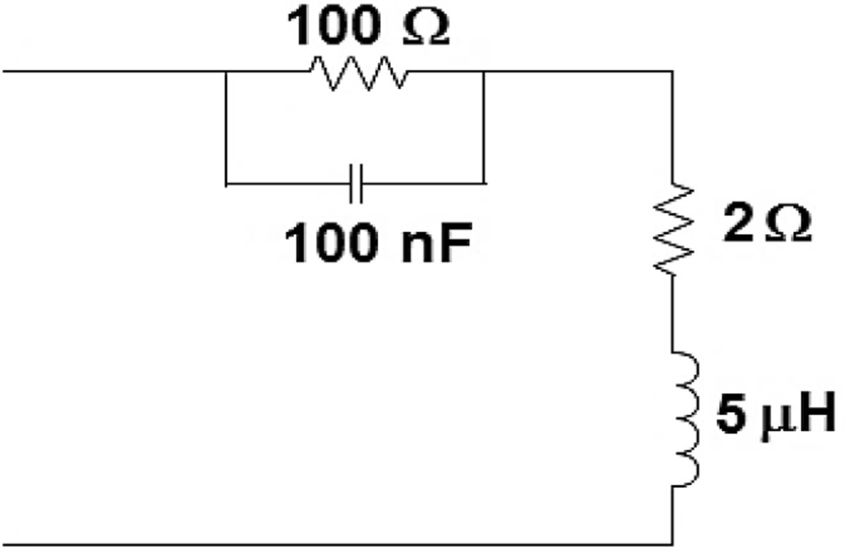 High Frequency Input Impedance Modeling Of Low Voltage Residential Rlc Series Circuit Details Figure 8
