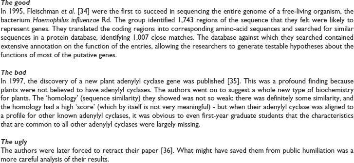 Having a BLAST with bioinformatics (and avoiding BLASTphemy ...