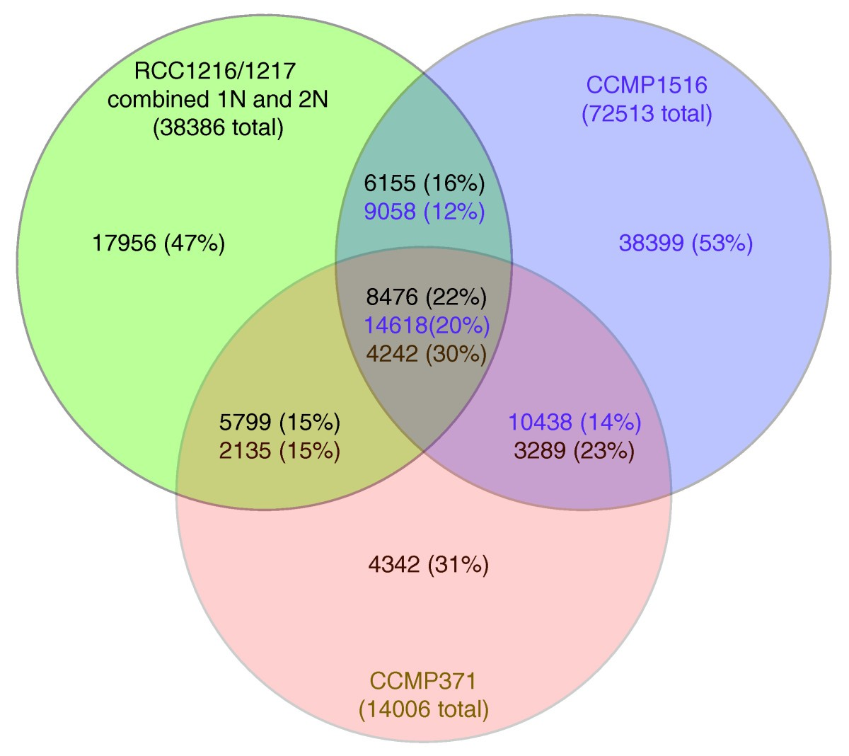 transcriptome analysis of functional differentiation