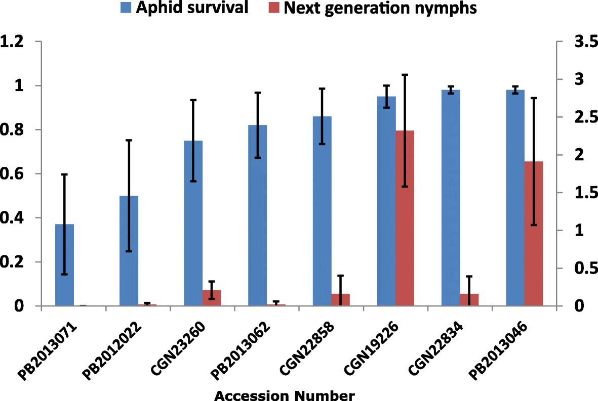 Reduced Phloem Uptake Of Myzus Persicae On An Aphid Resistant Pepper Bremis Switch Reversing Wiring Diagram Fig 2