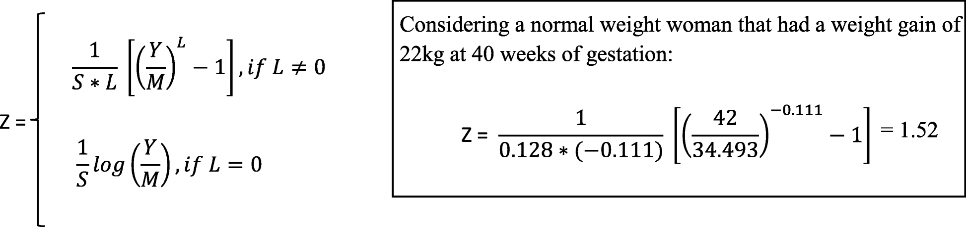 46fc1e2a588 Gestational weight gain charts for different body mass index groups ...