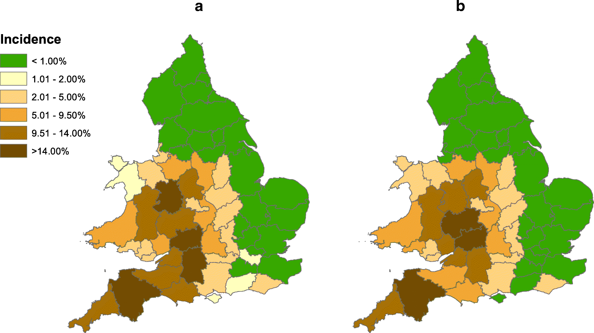 A new bovine tuberculosis model for England and Wales (BoTMEW) to ...