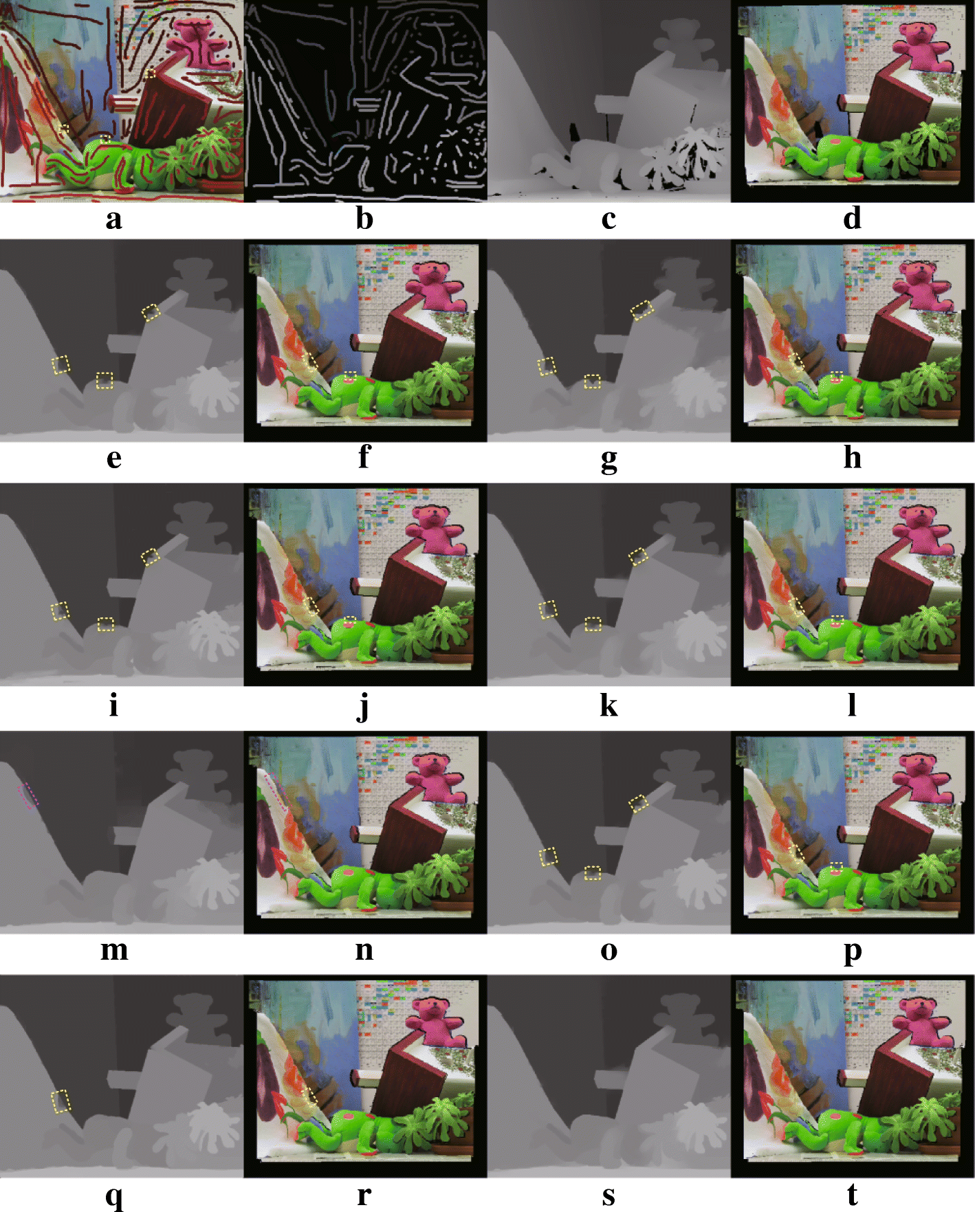 Robust semi-automatic 2D-to-3D image conversion via residual-driven