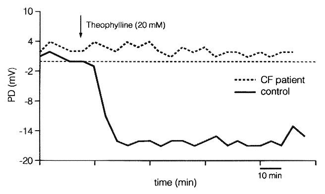 In Vivo Measurement of Chloride and Water Secretion in the Jejunum