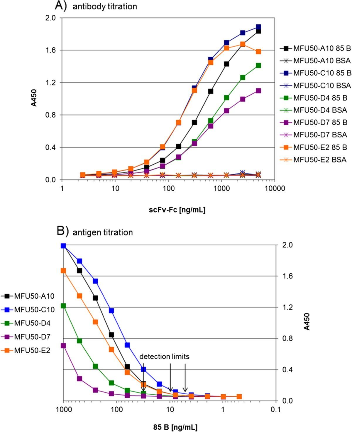 Novel Human Recombinant Antibodies Against Mycobacterium