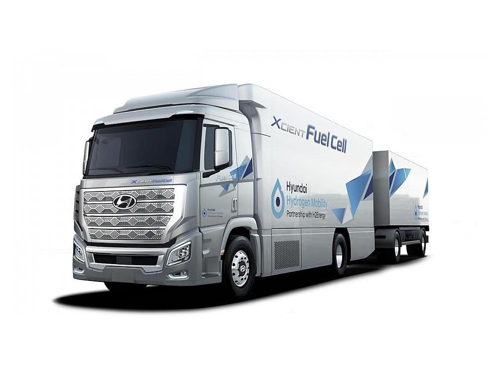 Faurecia liefert H2-Speicher für Hyundai-Brennstoffzellen-Lkw