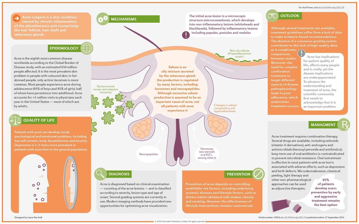 Acne Vulgaris Nature Reviews Disease Primers