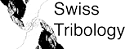 Logo for Swiss Tribology