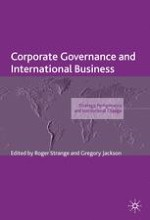 Why Does Corporate Governance Matter for International Business?