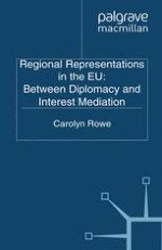 Regional Representations in the EU: An Introduction