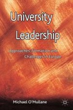 Organisational Leadership: Background and Framework for a Study of European Universities