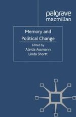 Memory and Political Change: Introduction