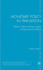 The Emergence of Open Inflation and Stabilization Efforts in Postcommunist Russia