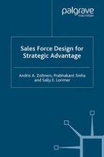 Designing and Redesigning the Sales Force in Today's Changing World