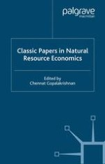 Classic Papers in Natural Resource Economics: An Overview