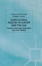A Policy for Agriculture