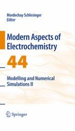 Numerical Modeling of Certain Electrochemical Processes