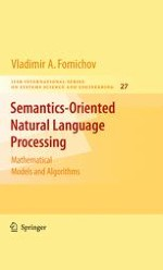 Mathematical Models for Designing Natural Language Processing Systems as a New Field of Studies for Systems Science