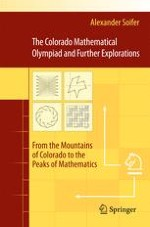 Colorado Mathematical Olympiad: How it Started and What it has Become