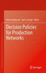An Overview of Decision Policies for Production Networks