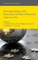 'New' Approaches to the Governance of Africa's Natural Resources