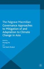 Governance Approaches to Mitigation of and Adaptation to Climate Change in Asia: An Introduction