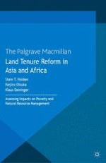 Land Tenure Reforms, Poverty and Natural Resource Management: Conceptual Framework