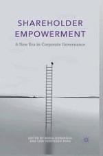 Shareholder Empowerment: An Introduction