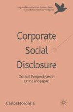 Corporate Social Disclosure in China and Japan: An Introduction