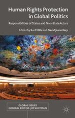 Introduction: Human Rights Responsibilities of States and Non-State Actors